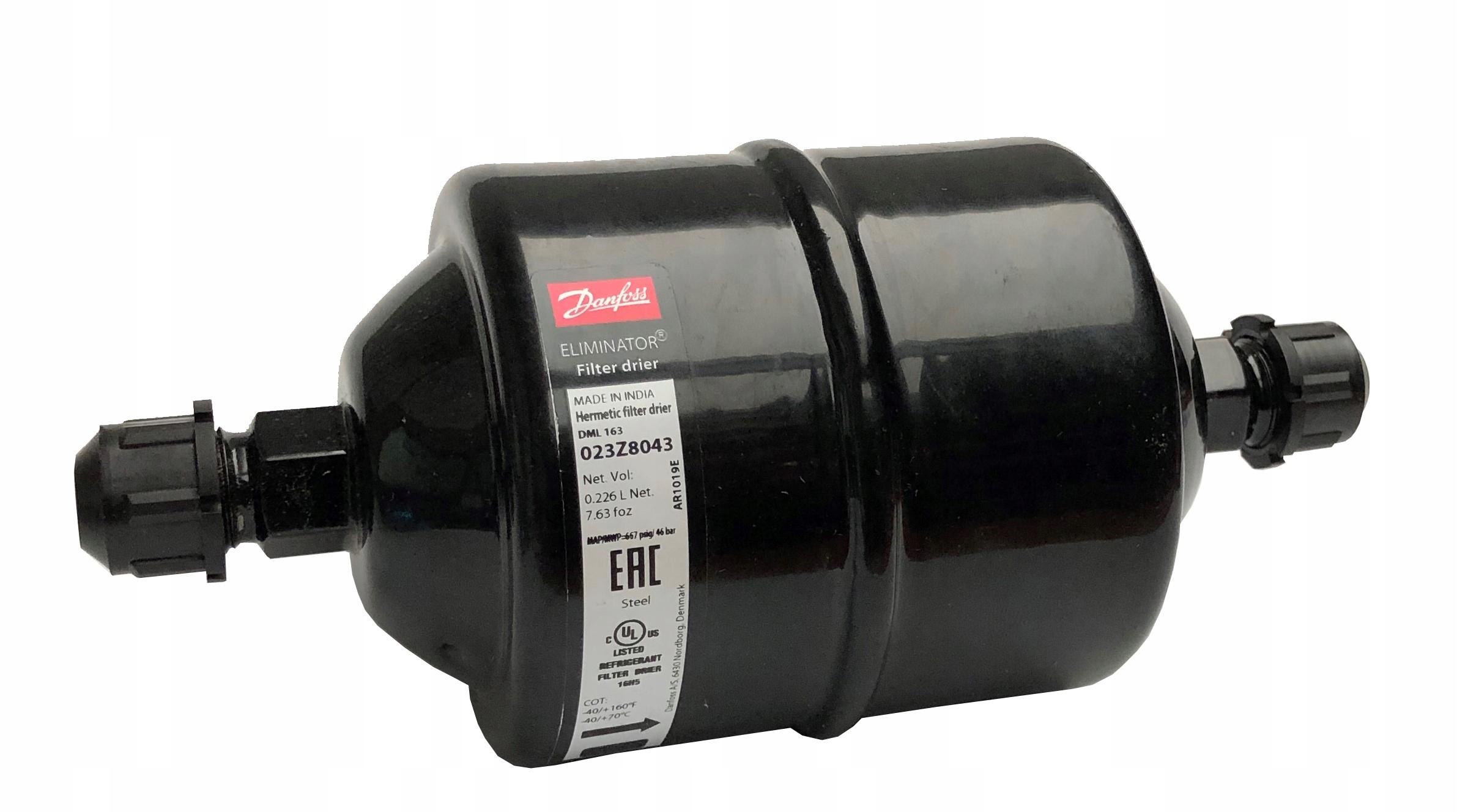 фильтр осушитель danfoss dml163 38'' 38'' 023z8043