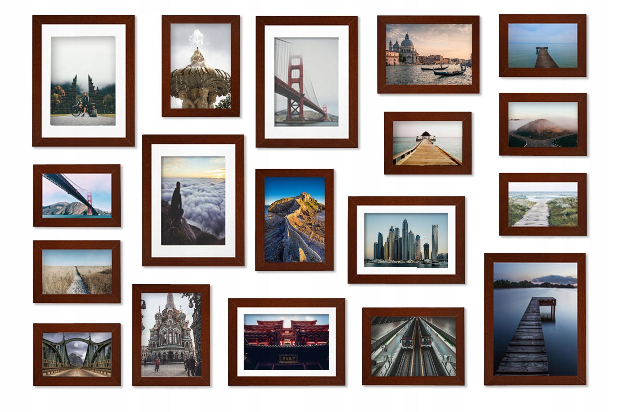 Multirama Madryt Zestaw ramek na zdjęcia do zdjęć