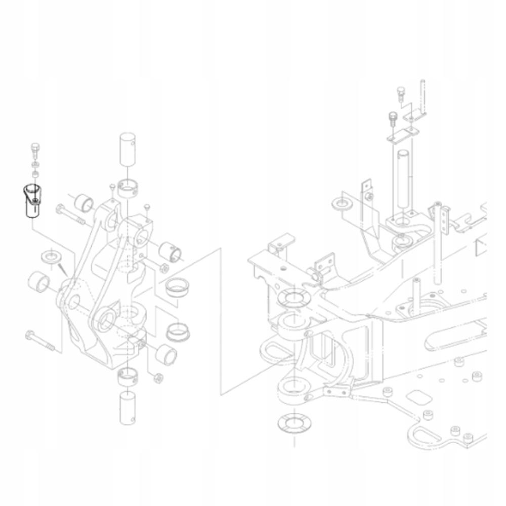 KUBOTA RG138-67460 Шкворень для экскаватора KX018
