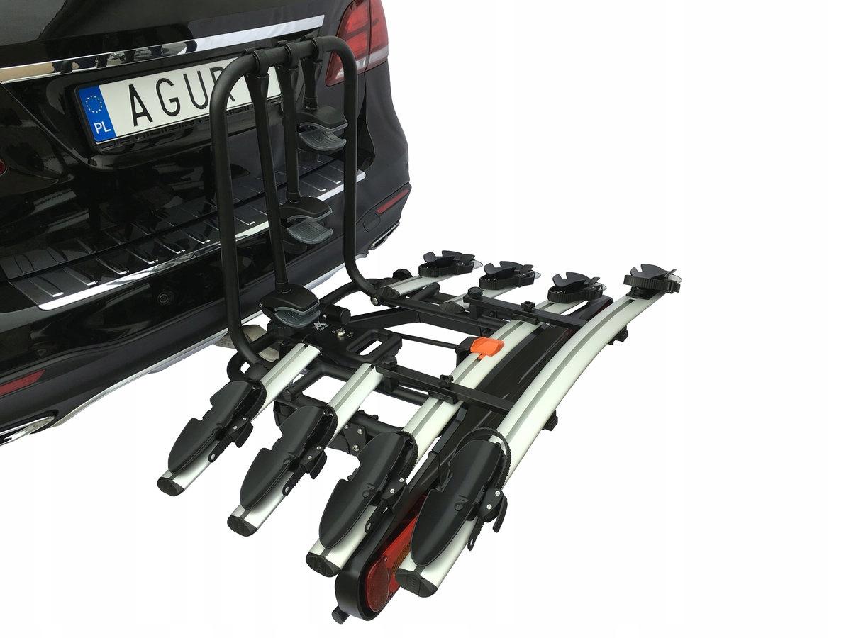 BAG HOLDER AGURI ACTIVE BIKE 4 велосипеда