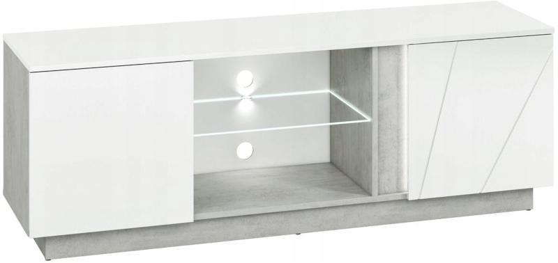 LUMENS 09 ТВ-блок 150 см белый глянец со светодиодной подсветкой