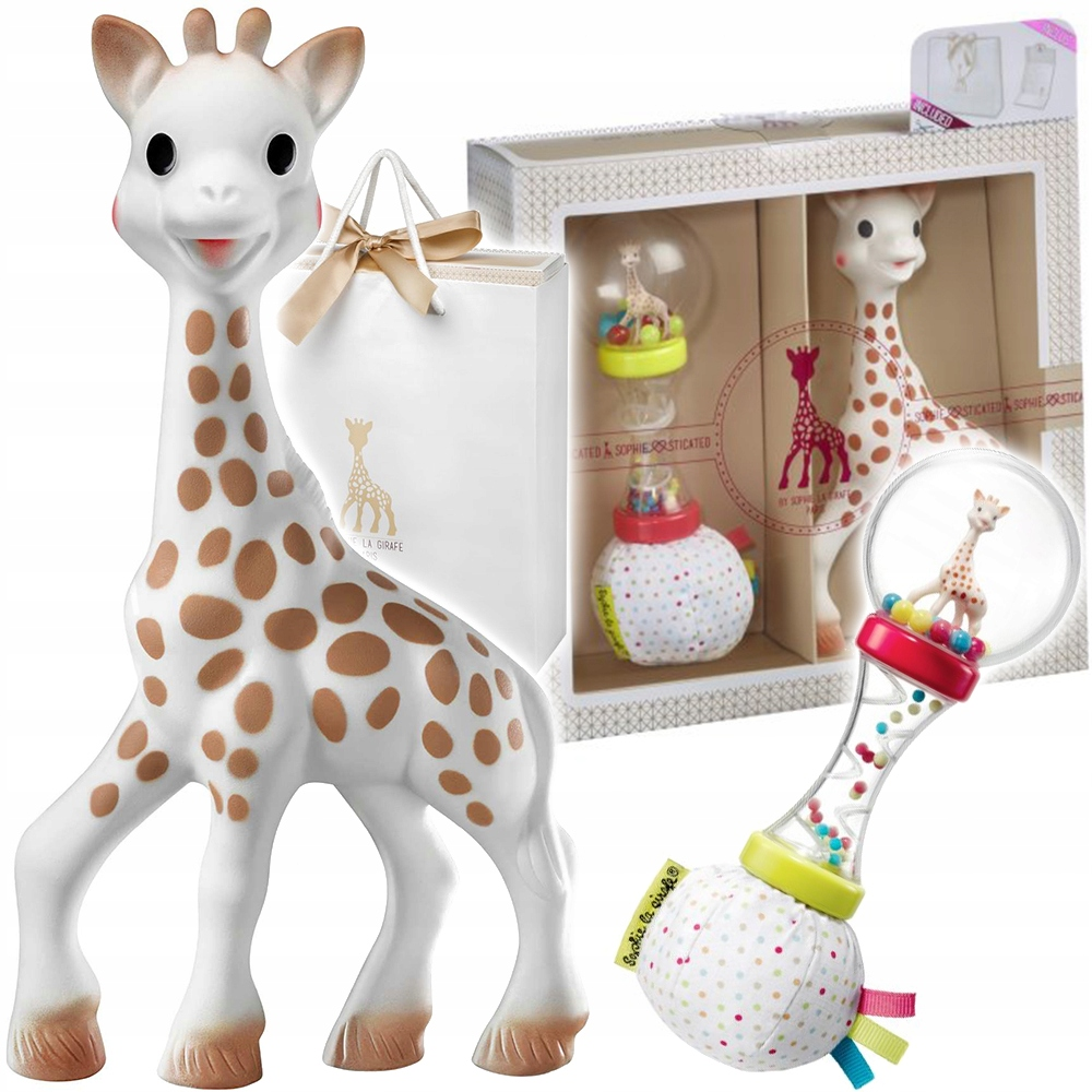 GIRAFFE SOPHIE TEETHER PIRTHDAY SET NO.9 000009