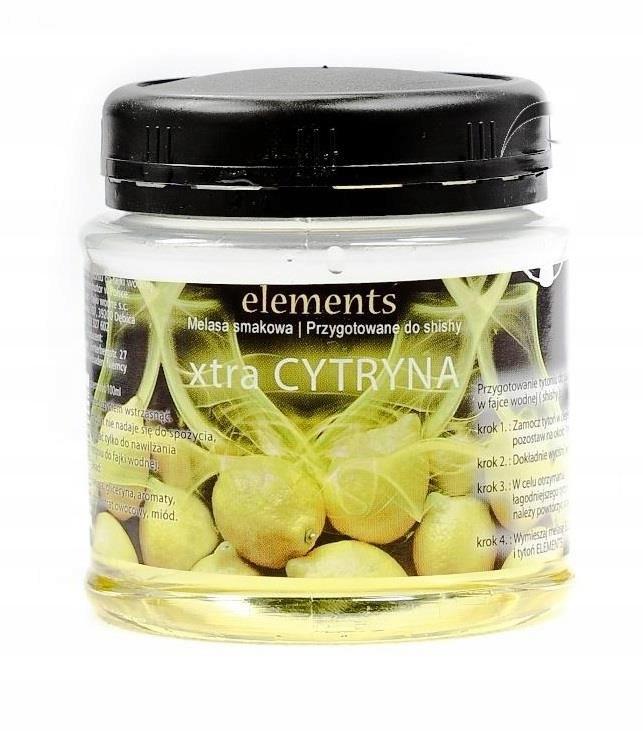 Melasa Elements 100ml Cytryna Fajka