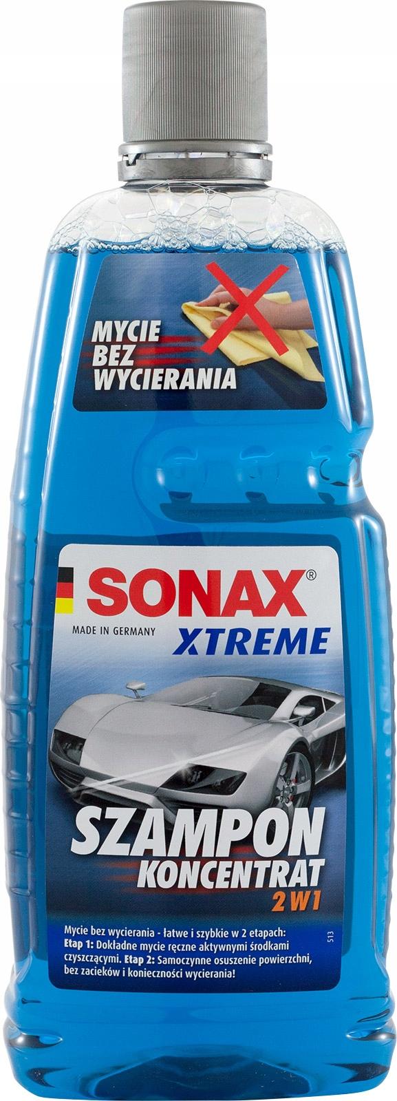 SONAX XTREME SZAMPON 2w1 KONCENTRAT - 1L