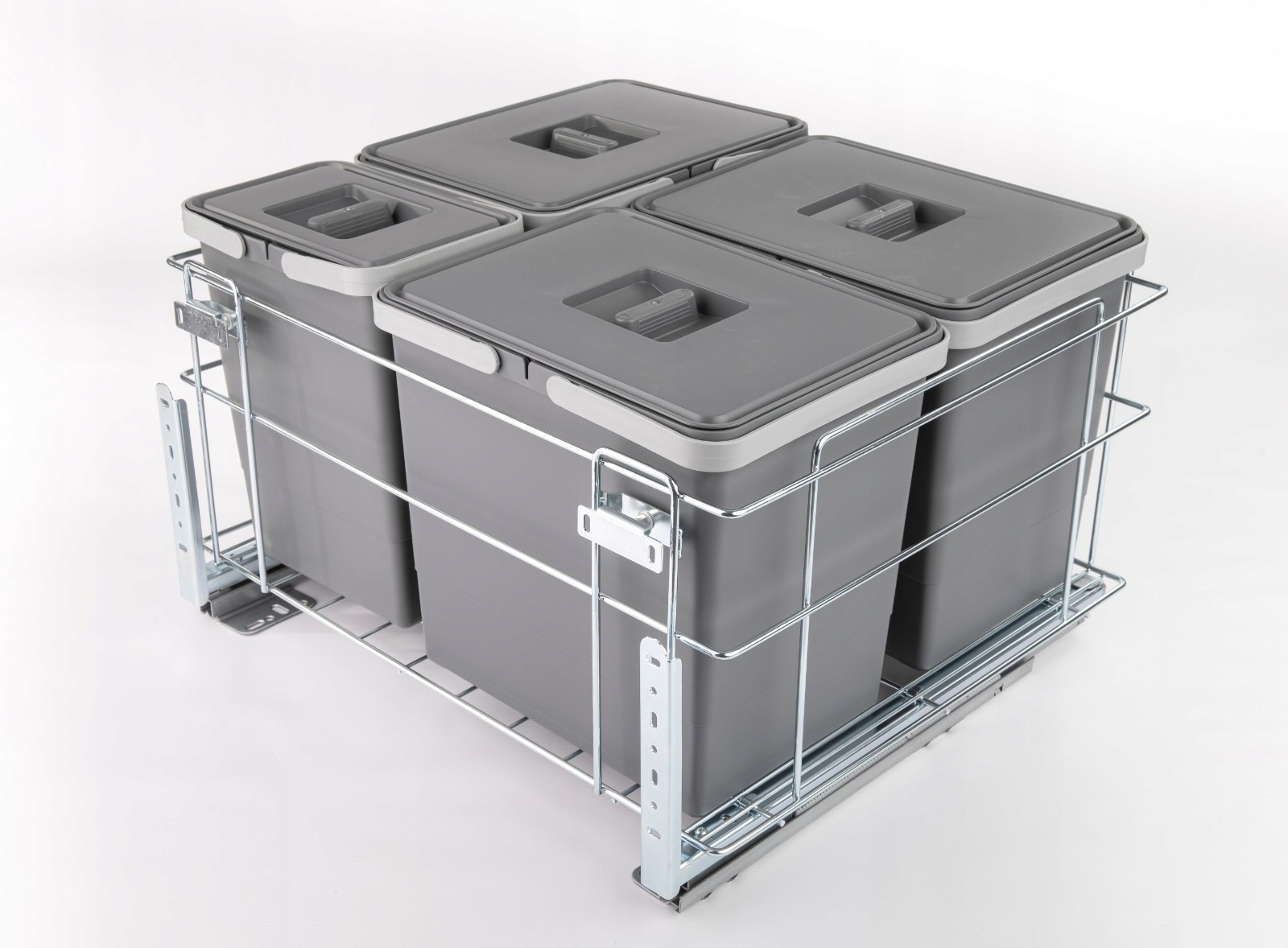 Segregator na śmieci Kosz do szafki 60 cichy domyk