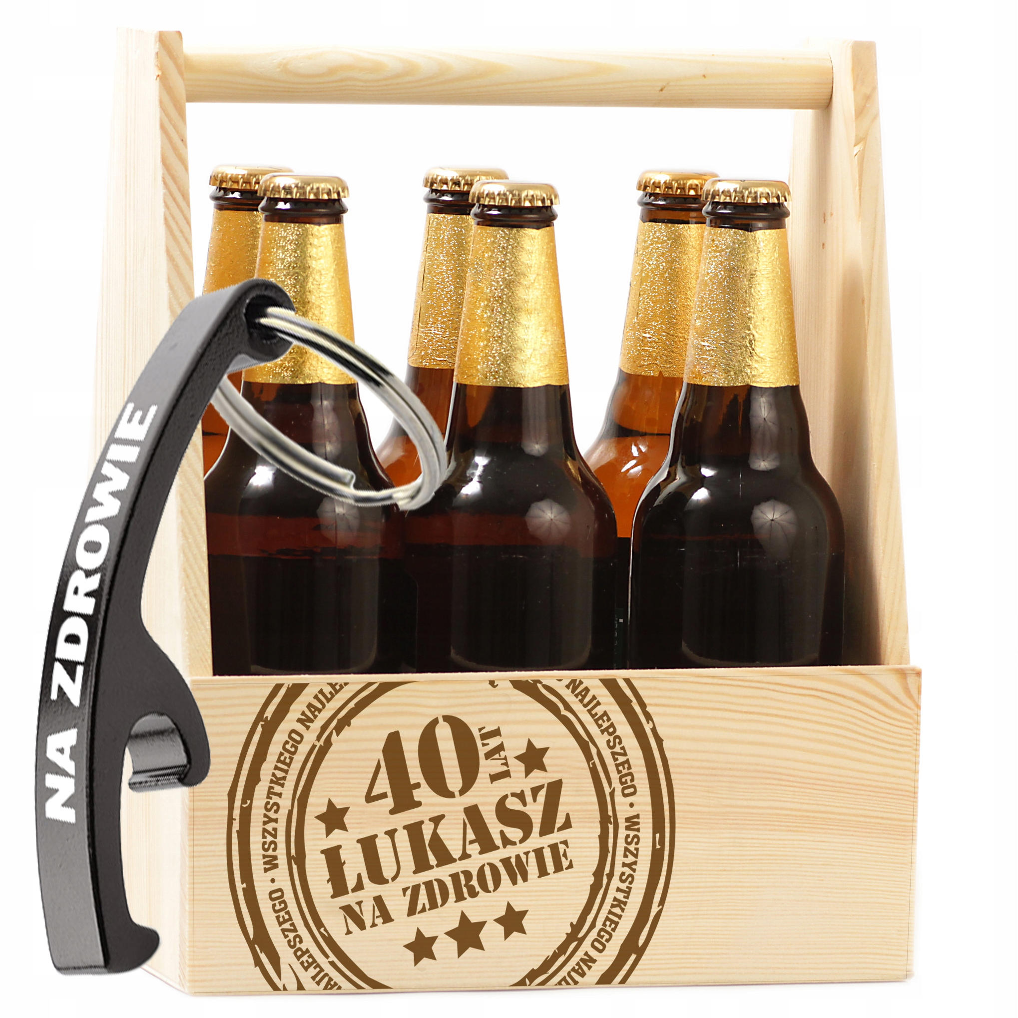Item GIFT 18 30 40 50 BIRTHDAY BOX-CARRYING BEER