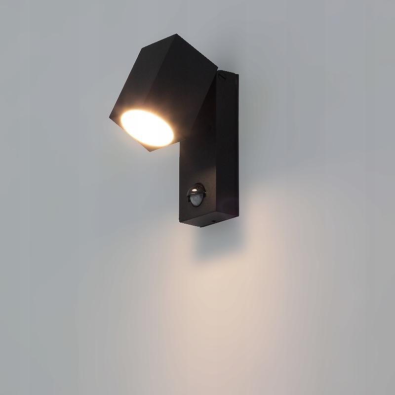 Lampa zewnętrzna z czujnikiem ruchu IP44 RAD43s