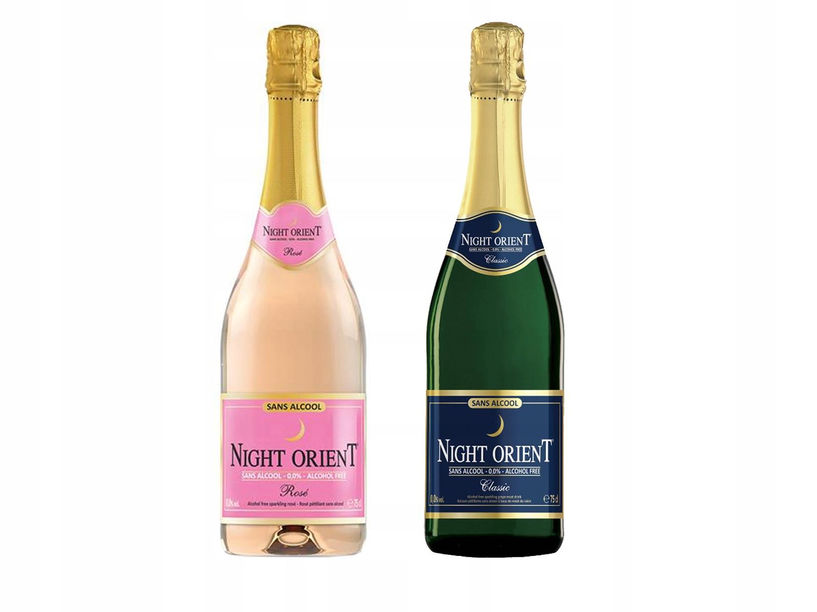 Безалкогольное вино 2x Night Orient 0,0% ИГРИСТОЕ