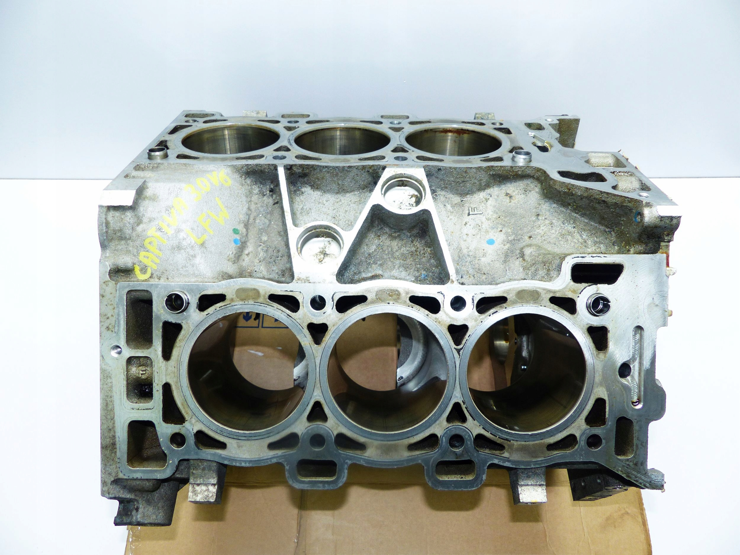 chevrolet captiva 30 v6 lf1 блок двигателя