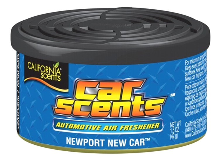 CALIFORNIA CAR SCENTS аромат NEW CAR