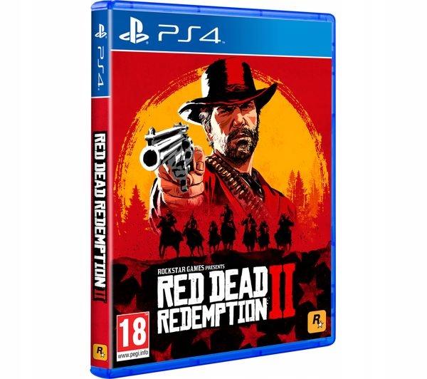 Item Red Dead Redemption II 2 PS4 po Polsku PL