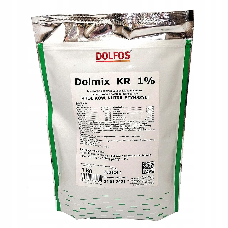 Dolmix KR 1 % Витамины для Кроликов, Шиншилл 1 Кг