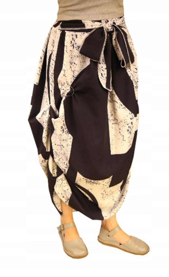 Dlhé sukne boho vintage teplá jeseň Poľsko