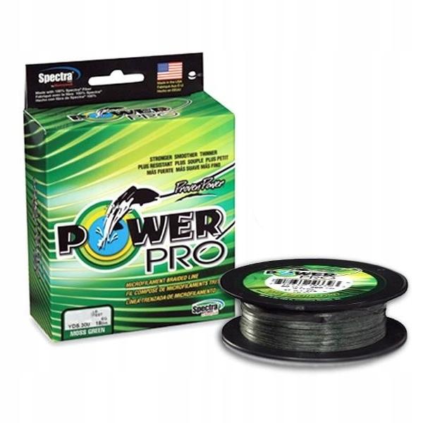 Power Pro vrkoč Moss Green 275m 0,43 mm