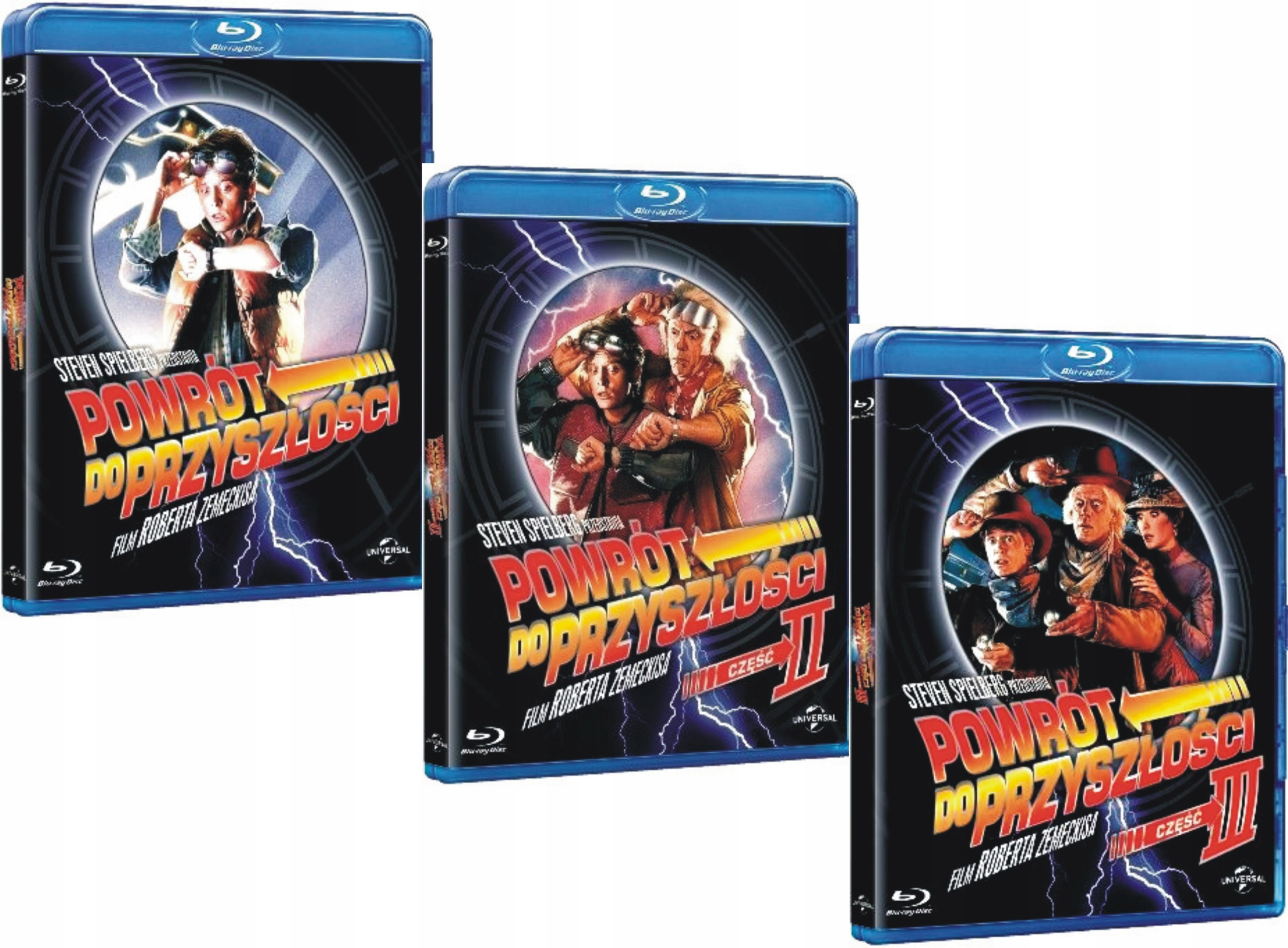 Item BACK TO THE FUTURE TRILOGY BLU-RAY [LECTURER]