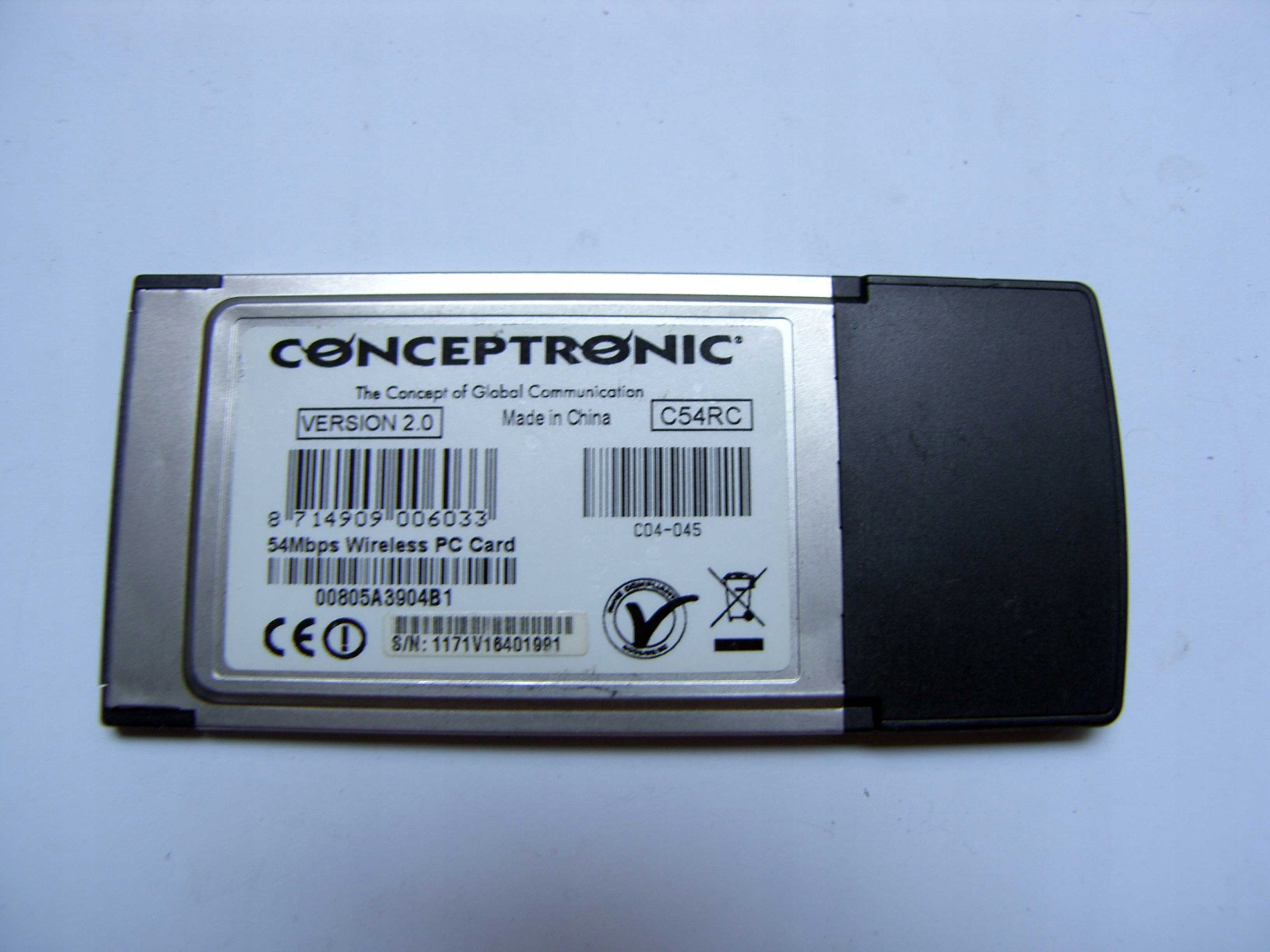 CONCEPTRONIC WIRELESS C54RC DRIVERS FOR WINDOWS 7