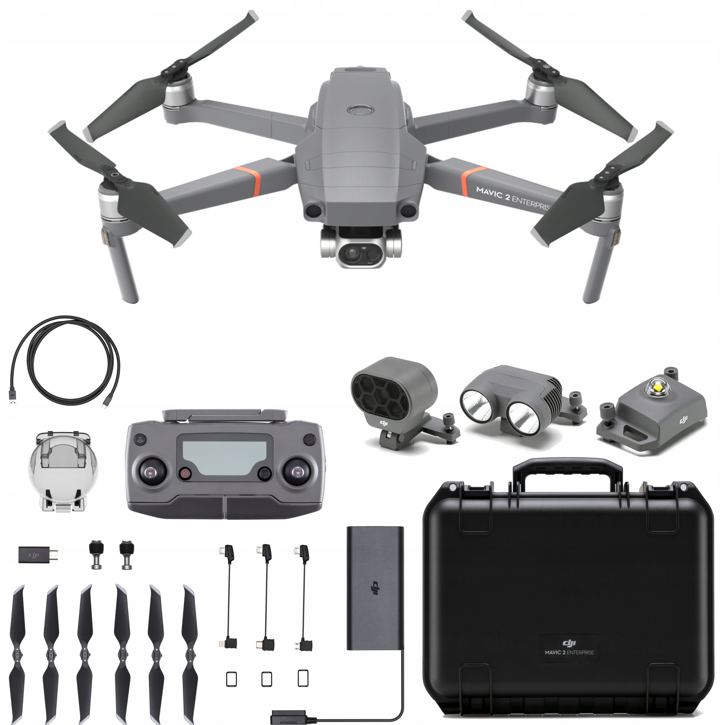 DJI MAVIC 2 ENTERPRISE DUAL 4K 12MP TERMOWIZJA