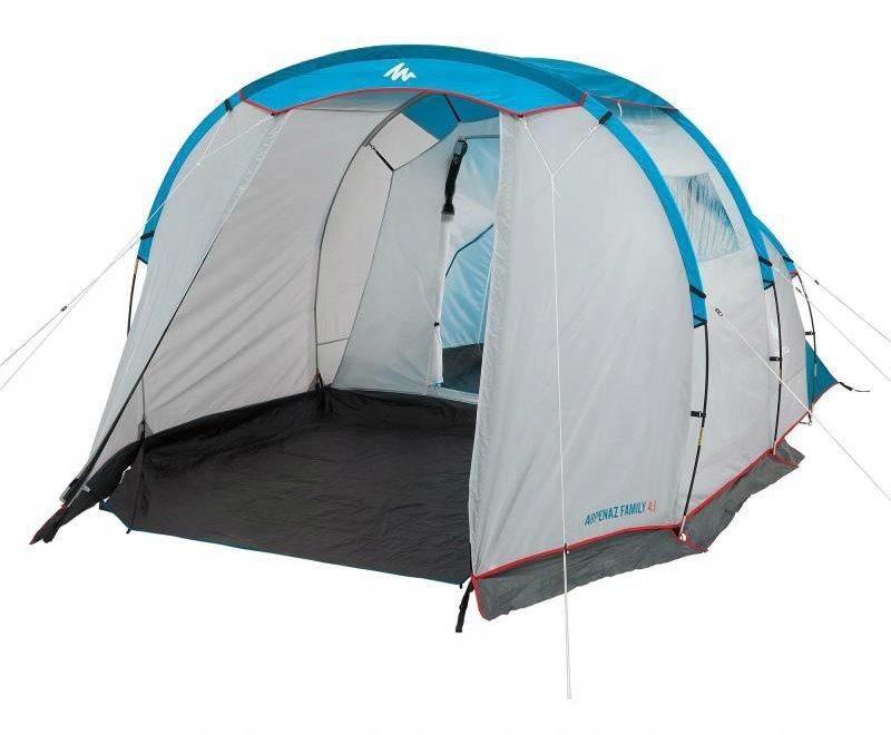 Quechua Namiot 4 Osobowy 1 Sypialnia Przedsionek 8064398823 Allegro Pl