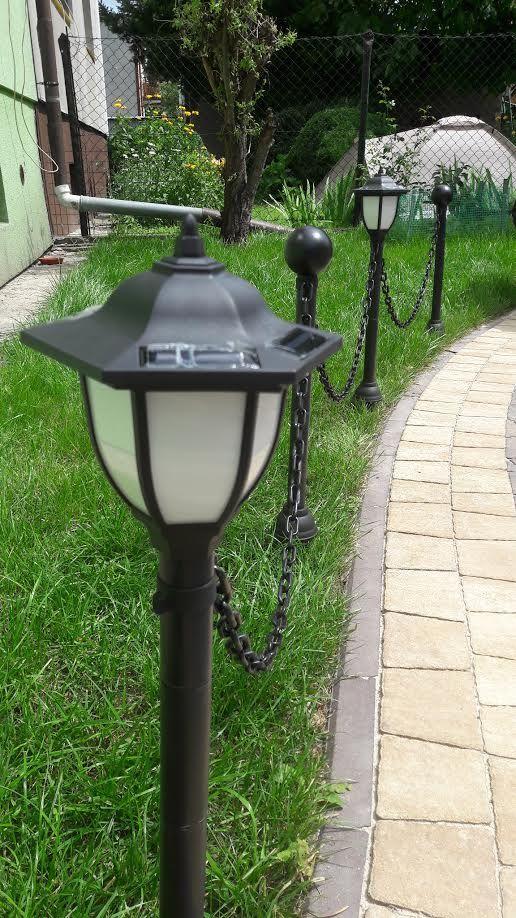 lampy solarne do zamontowania na slupkach