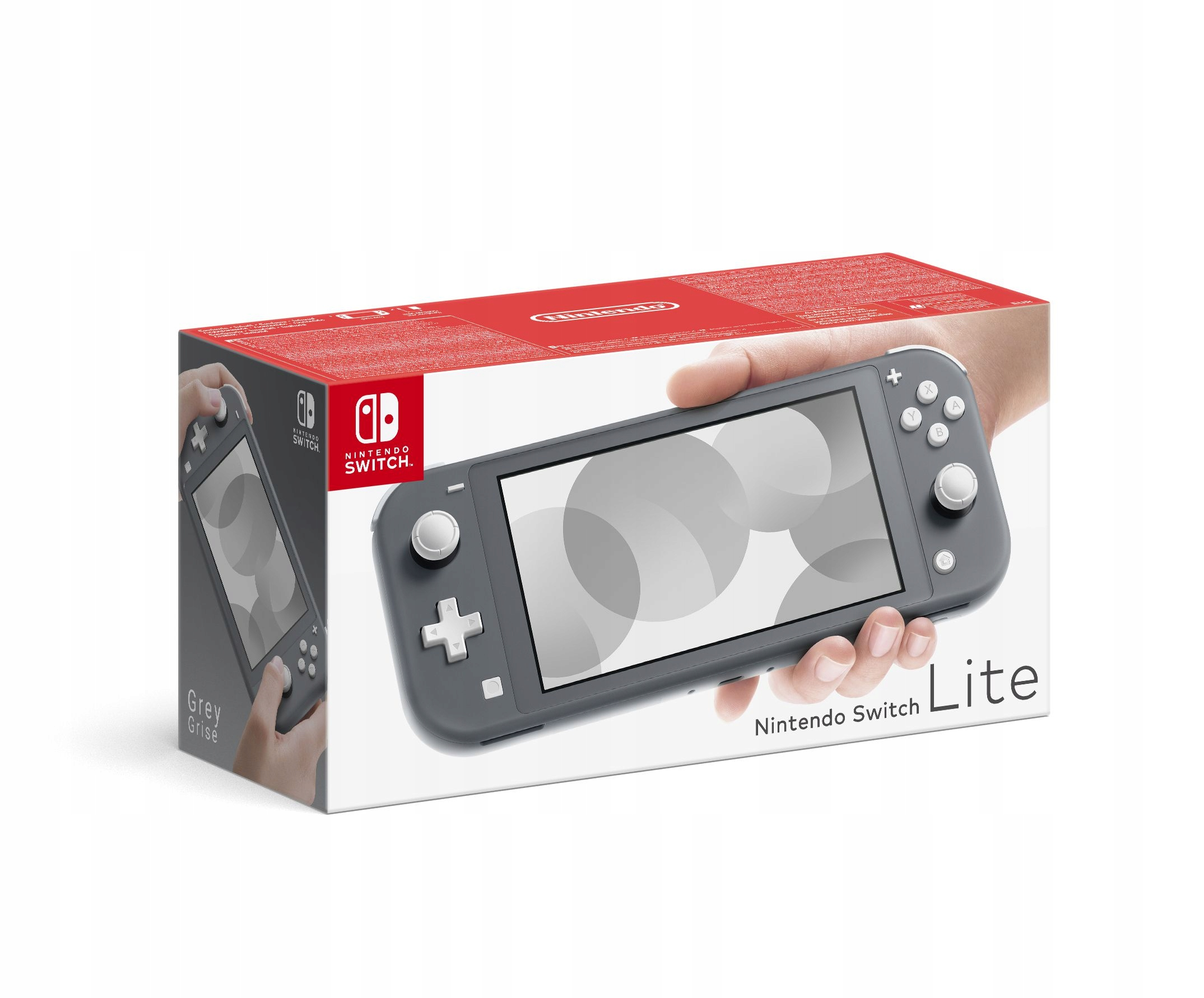 Item GAME CONSOLE-NINTENDO SWITCH LITE GRAY