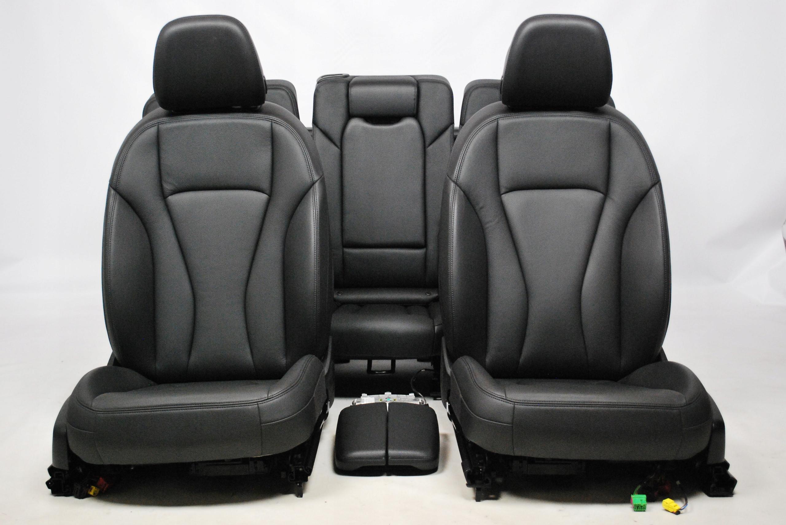 Fotele komplet skóra 7 osób Audi Q7 4M0 7971432235 - Allegro.pl