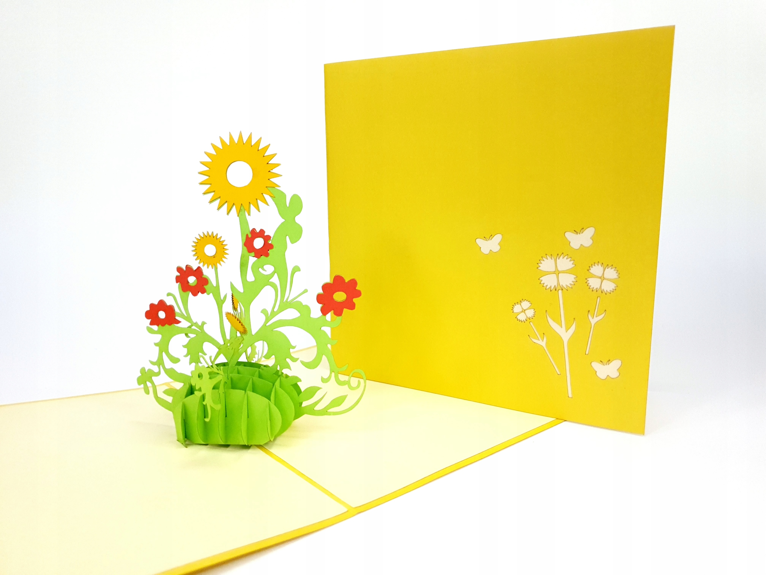 Item The flowers are Sunflowers, Postcard 3d, international Women's Day, Summer