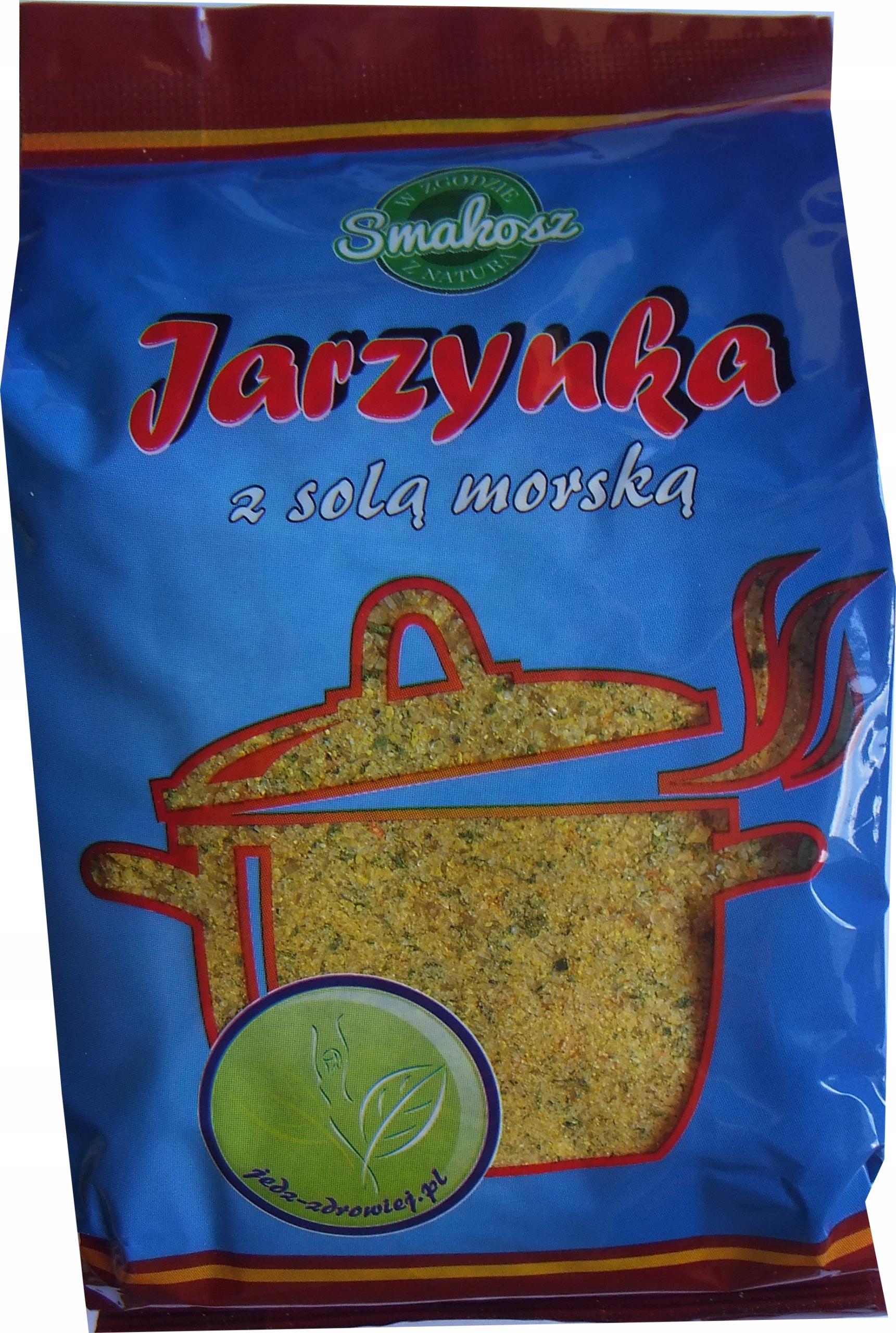Jarzynka z solą 500g SMAKOSZ