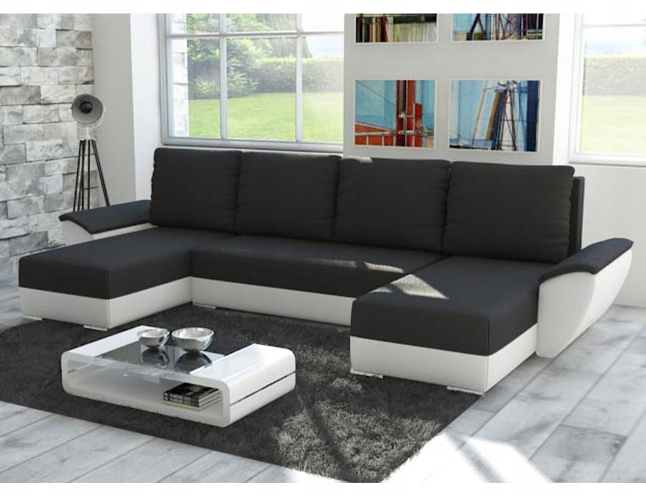 Большой угловой диван-кровать FLY U с функцией сна