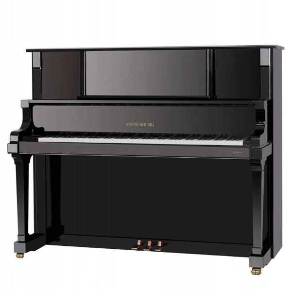 Piano Kingsburg Indiana 133 čierny lesk