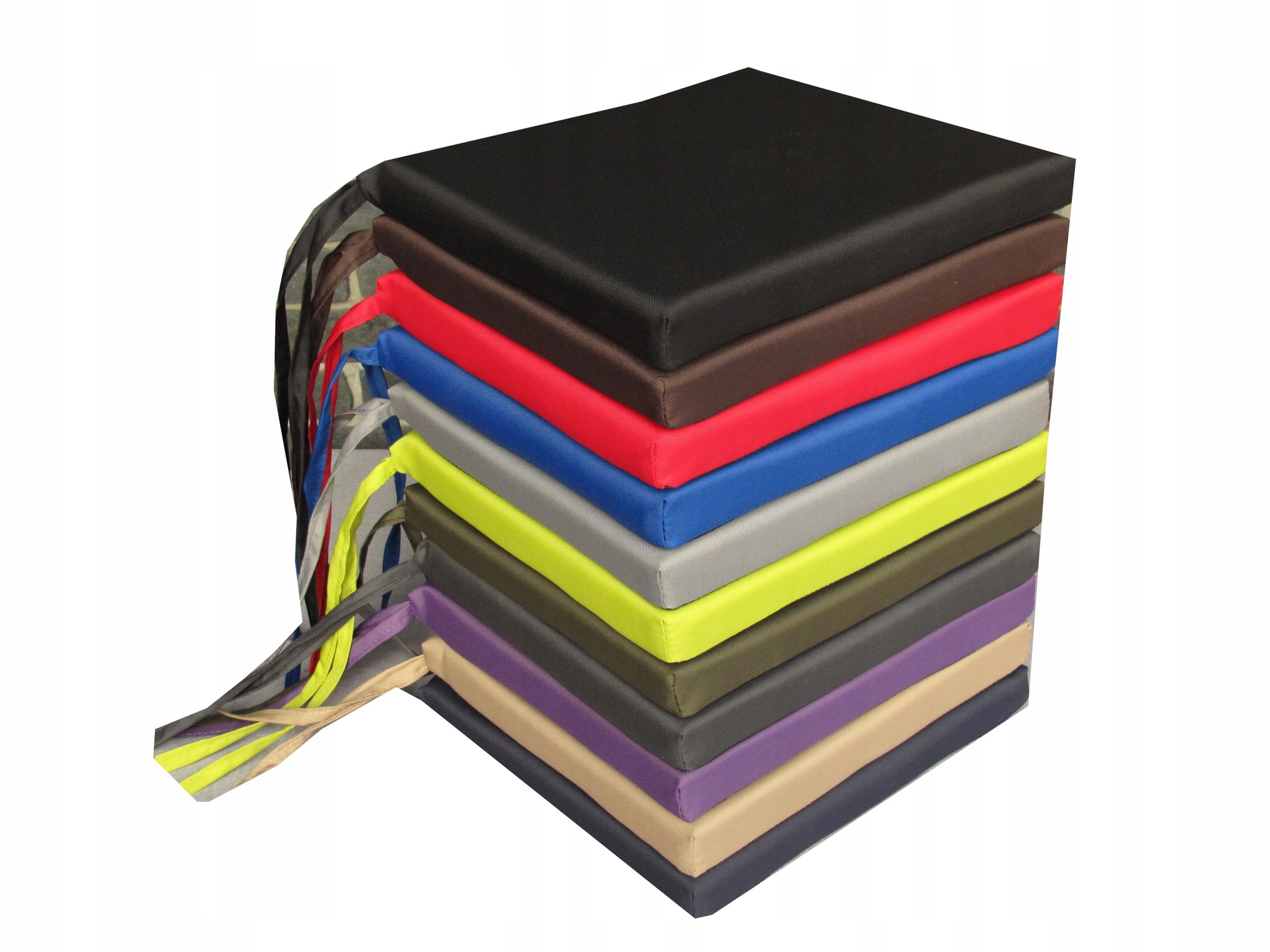Poduszka na krzesła 40x35x4 wodoodporna 11 kolorów