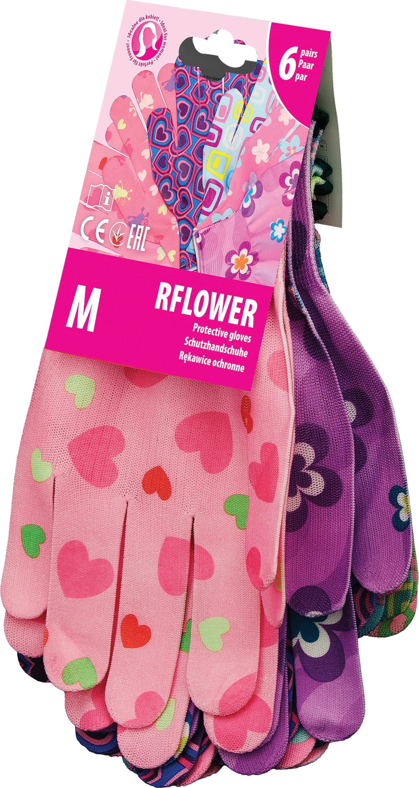 Защитные перчатки женский рабочий сад 1para M