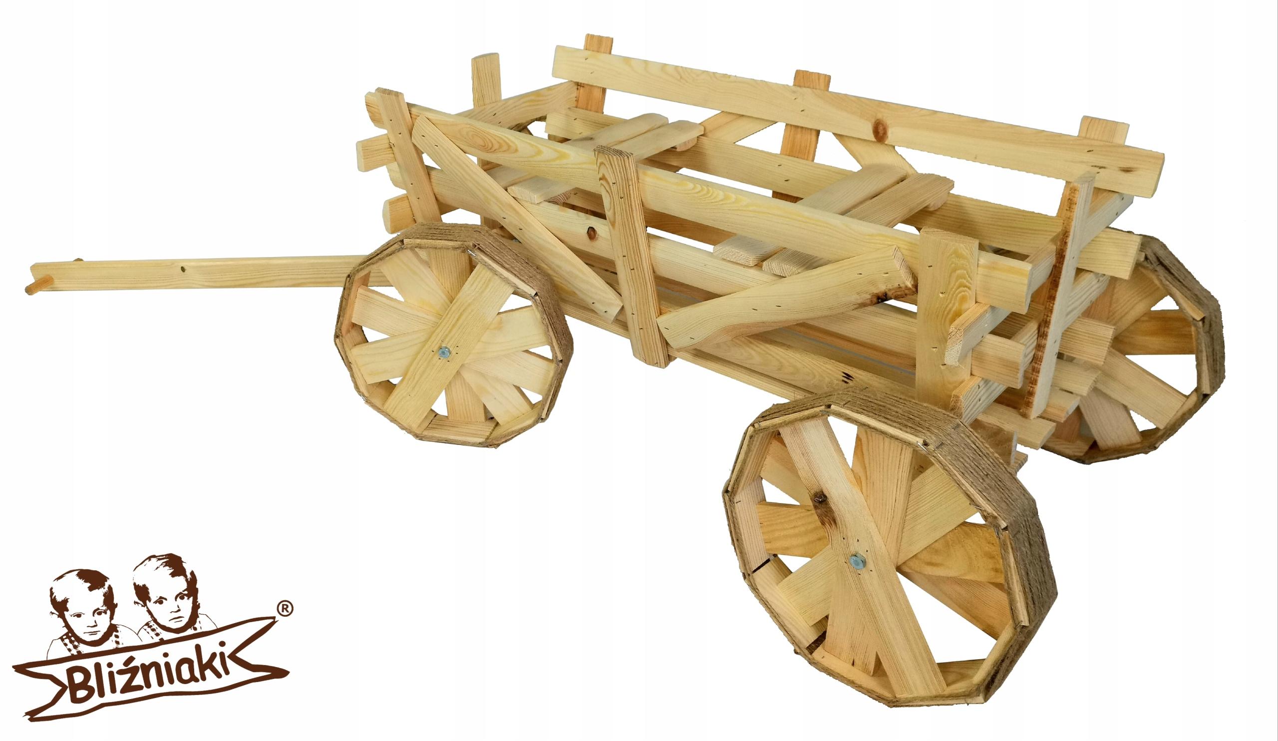 Drevený STROJ DRABINIASTY 167cm Flowerbed na kolesách