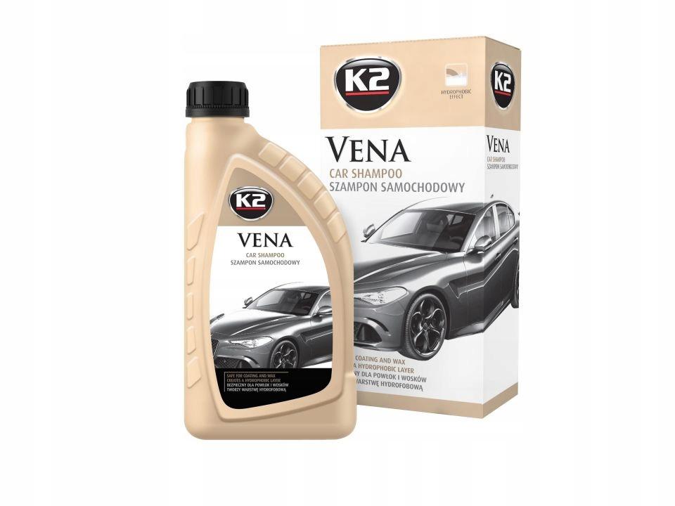 K2 VENA - Гидрофобный автомобильный шампунь - 1Л