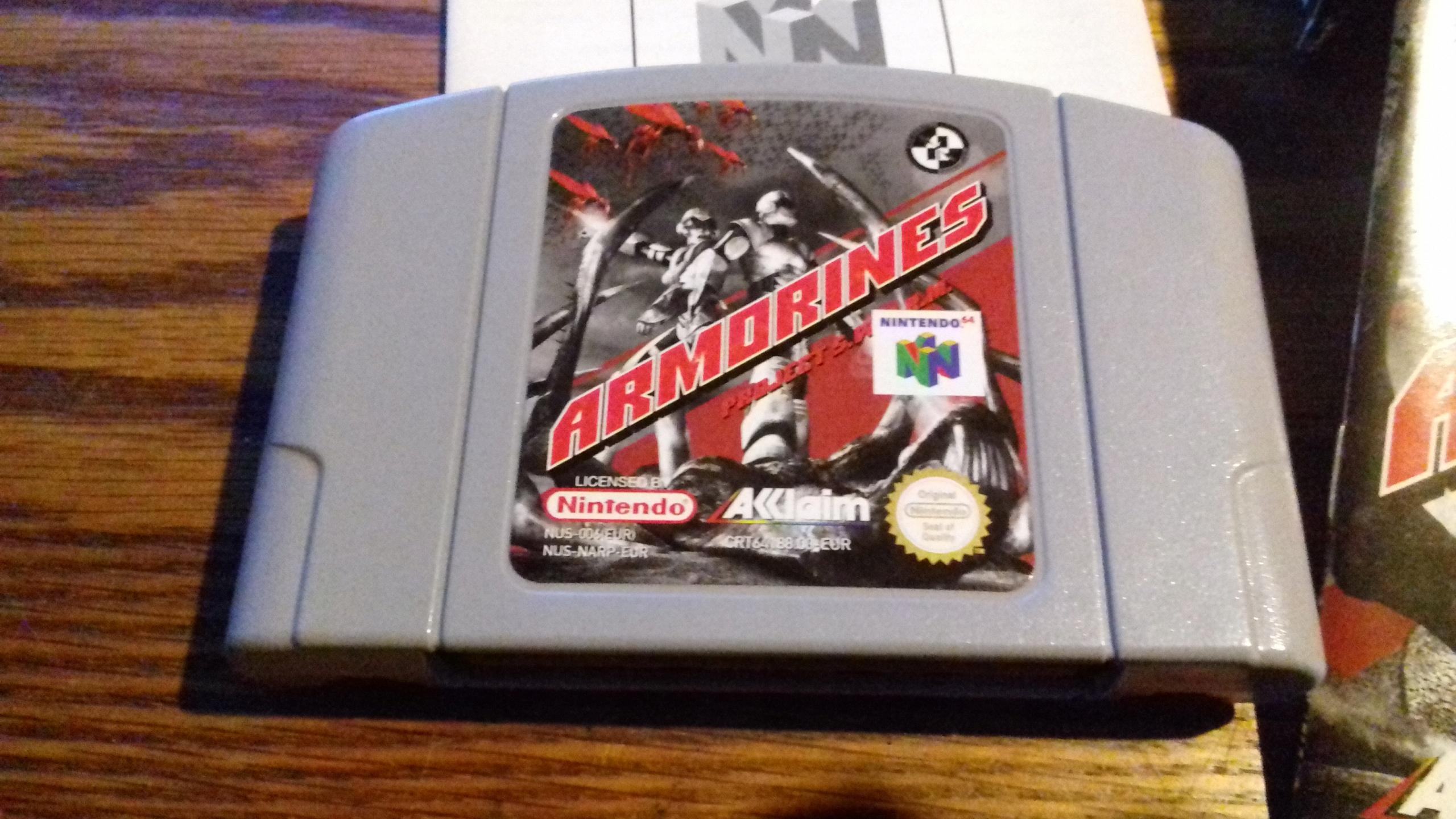 Nintendo 64 Armorines Projekt S. W. A. R. M.