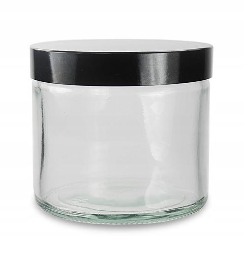 баночка стеклянная БАНОЧКА бесцветного стекла 120 мл