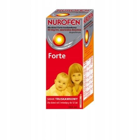 Купить Нурофен детский форте труск 40 мг / мл 100 мл на Otpravka - цены и фото - доставка из Польши и стран Европы в Украину.