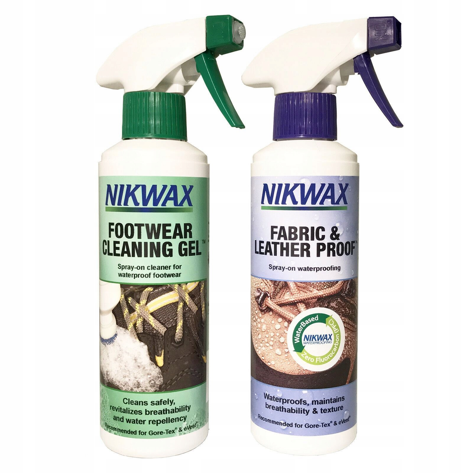 Nikwax Набор Ткань Кожа и Гель для обуви, 300 мл