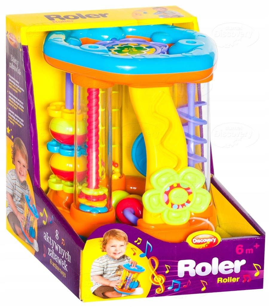 ROLER Musical Creative Fun Crawling 6M +