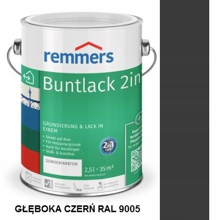 REMMERS 2v1 Buntlack 2.5 L jet BLACK