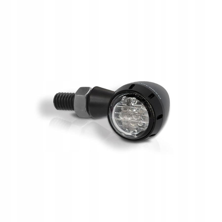 Smerové svetlá CAFE RACER RETRO BARRACUDA   S-LED