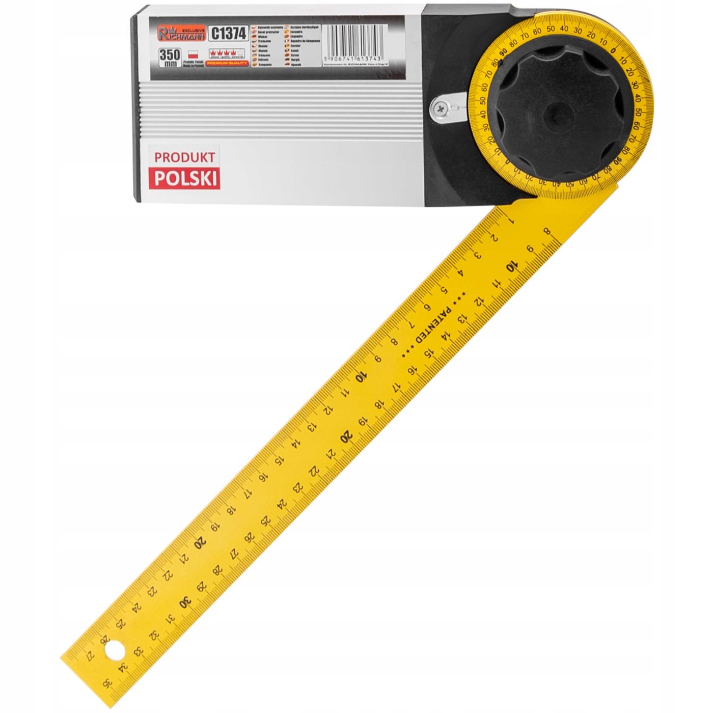 RICHMANN KĄTOMIERZ kątownik nastawny 350 mm C1374