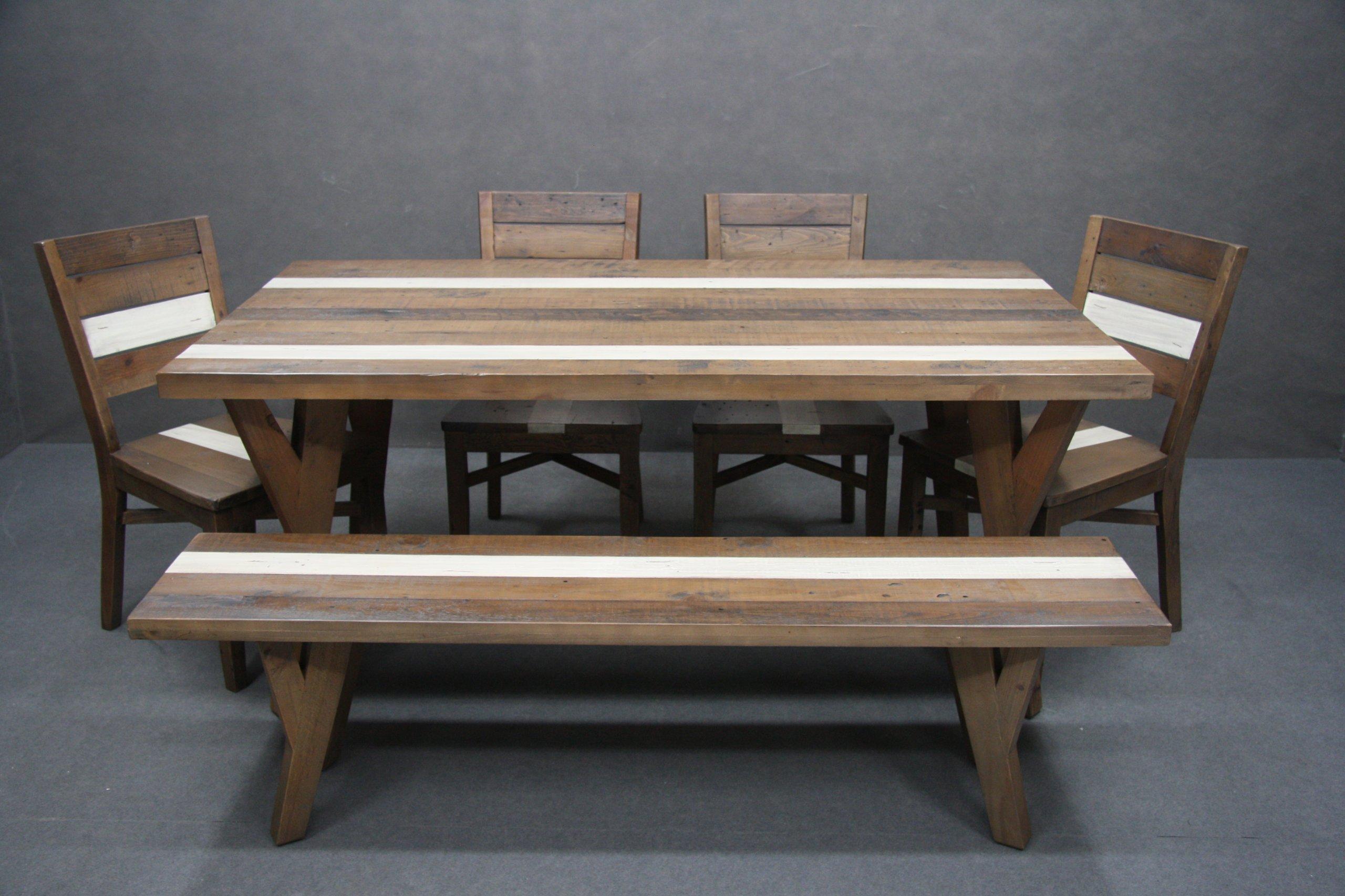 Tabuľka nastavenia, 4 stoličky, Lavice Lite Dreva ROČNÍK