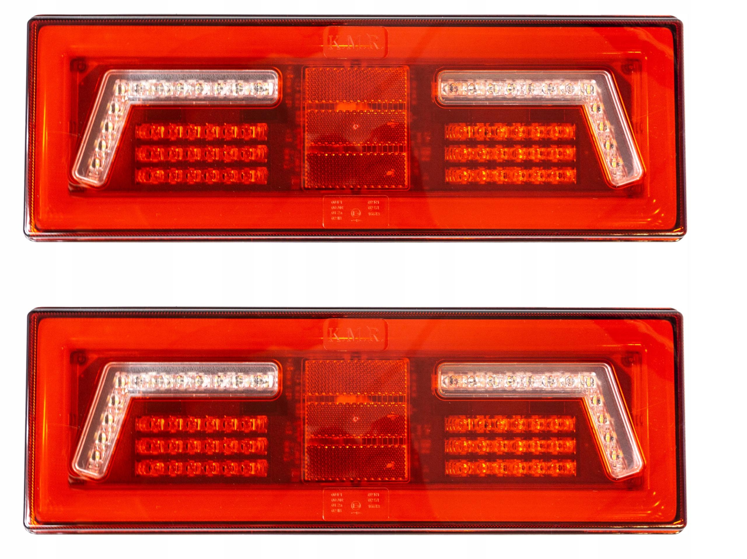 2x лампа фонарь мост led диодов прицепа