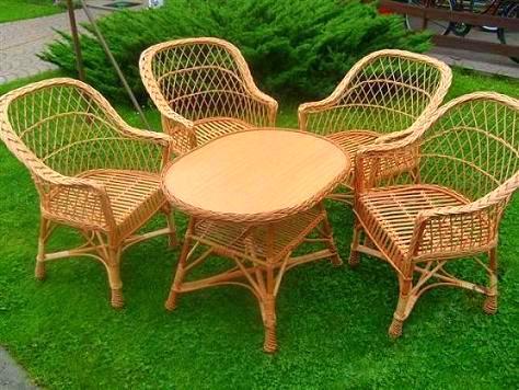 Prútený záhradný nábytok Výrobca Prútený záhradný set -