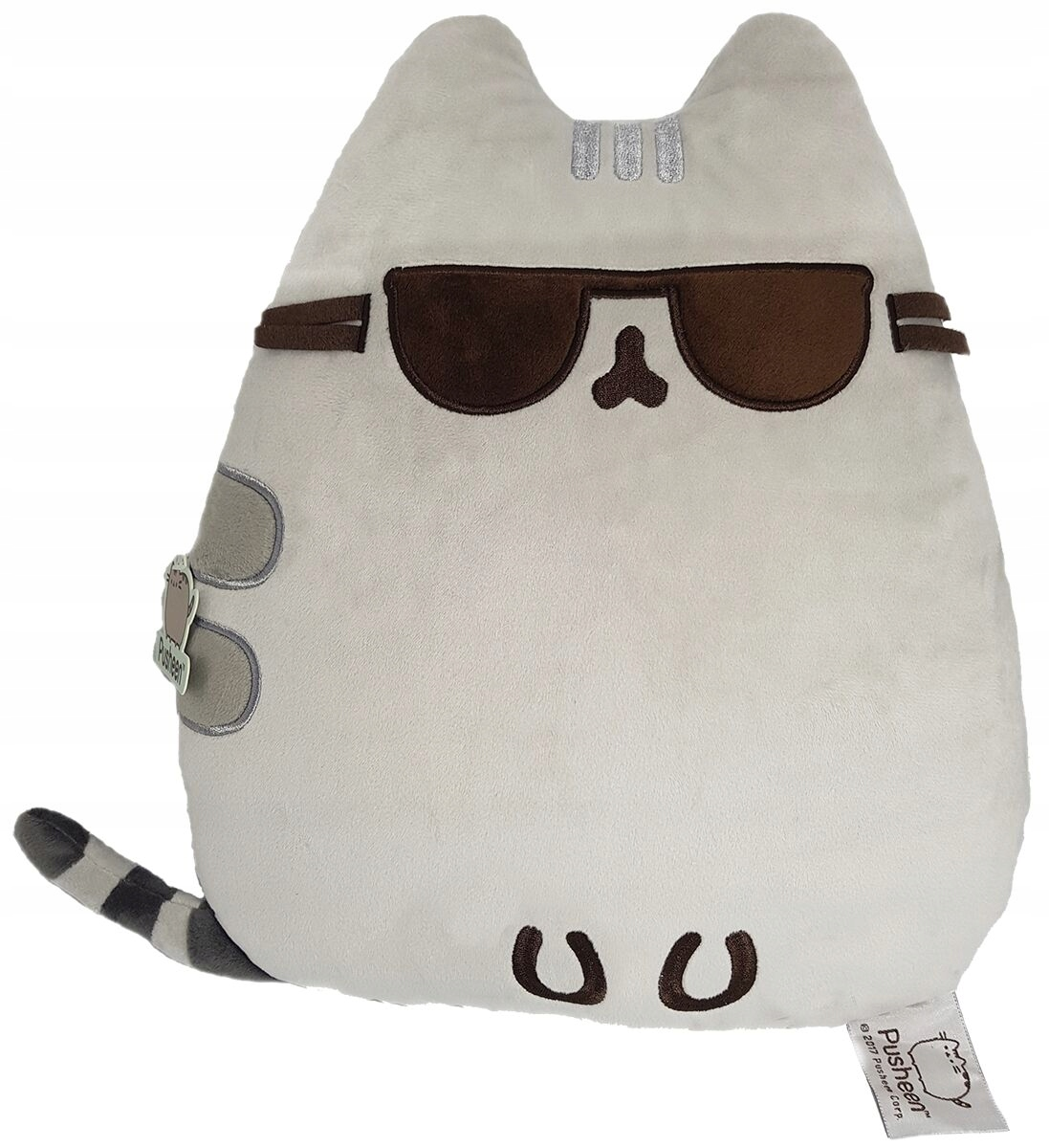 Mačka PUSHEEN JUMBO 102X85cm mäkká v okuliaroch