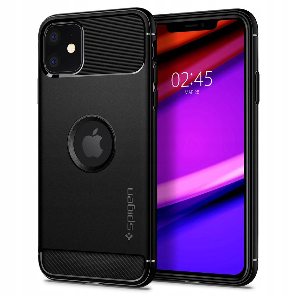 Etui Spigen Rugged Armor Case iPhone 11