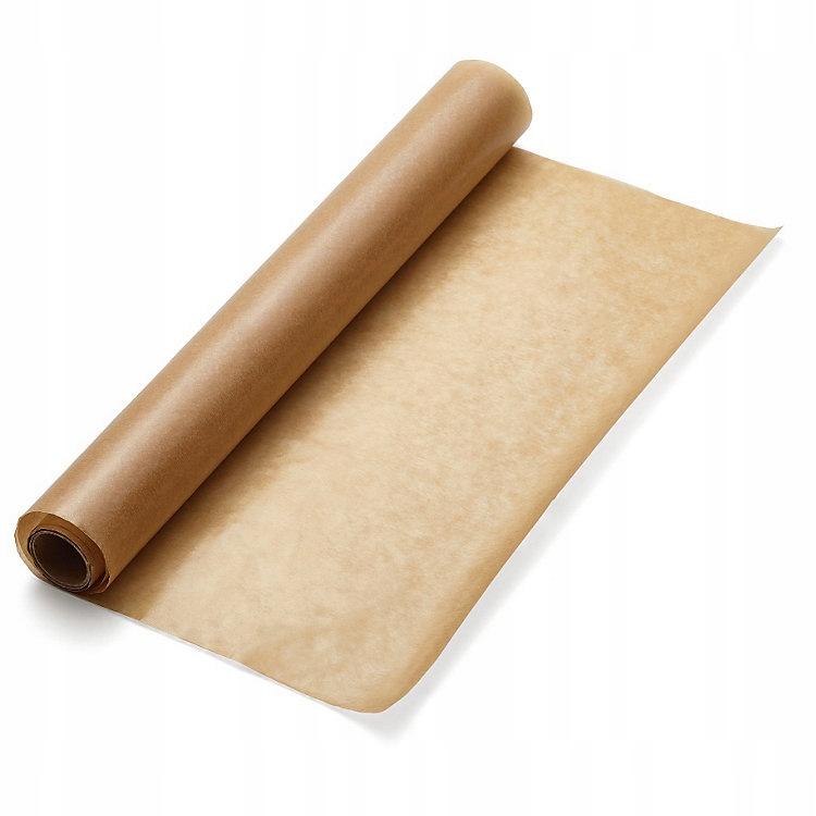 Papier do pieczenia brązowy D silikon 38cmx50m ŁDŹ
