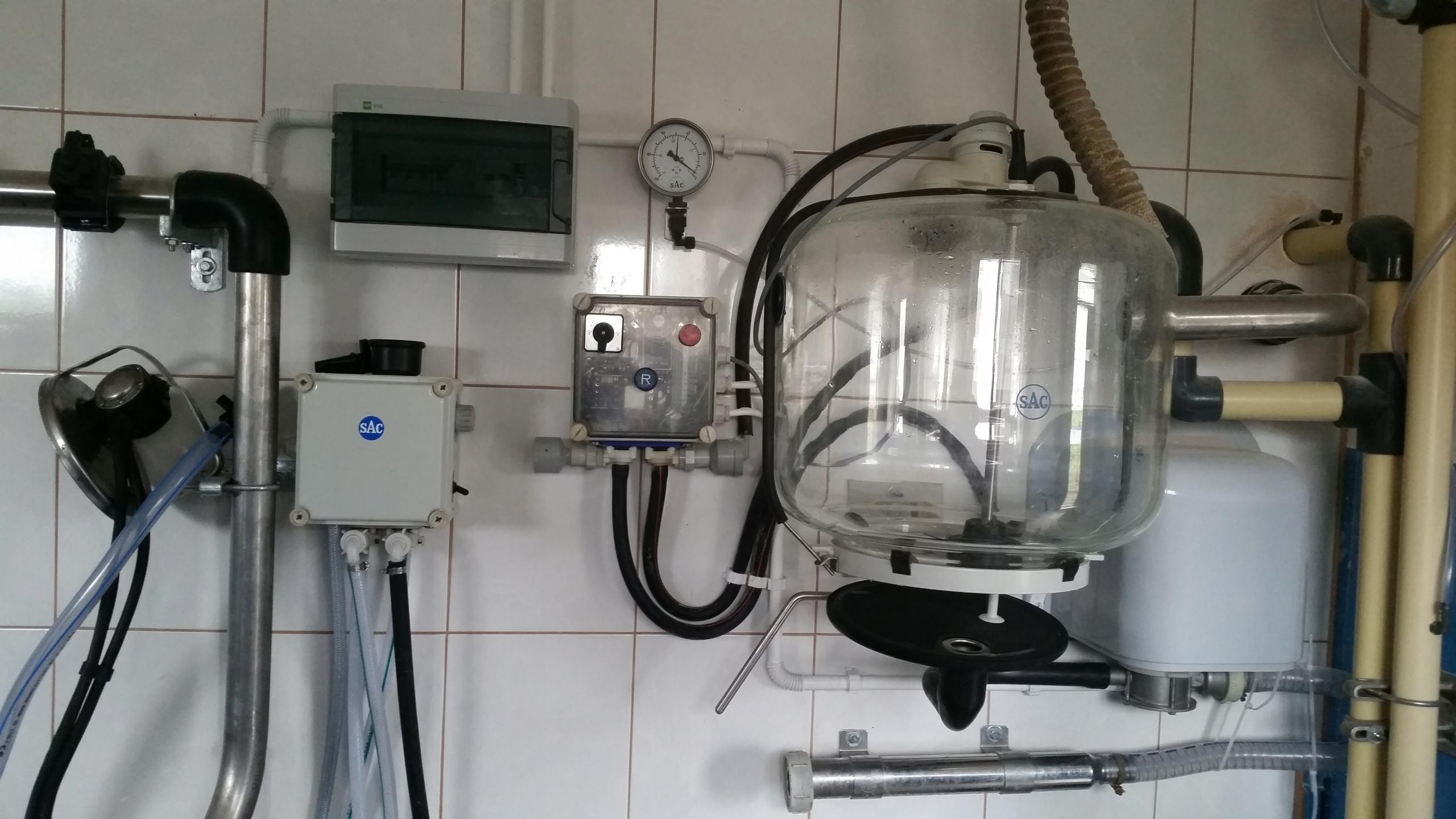 Проводной доильный аппарат SAC 4 устройства