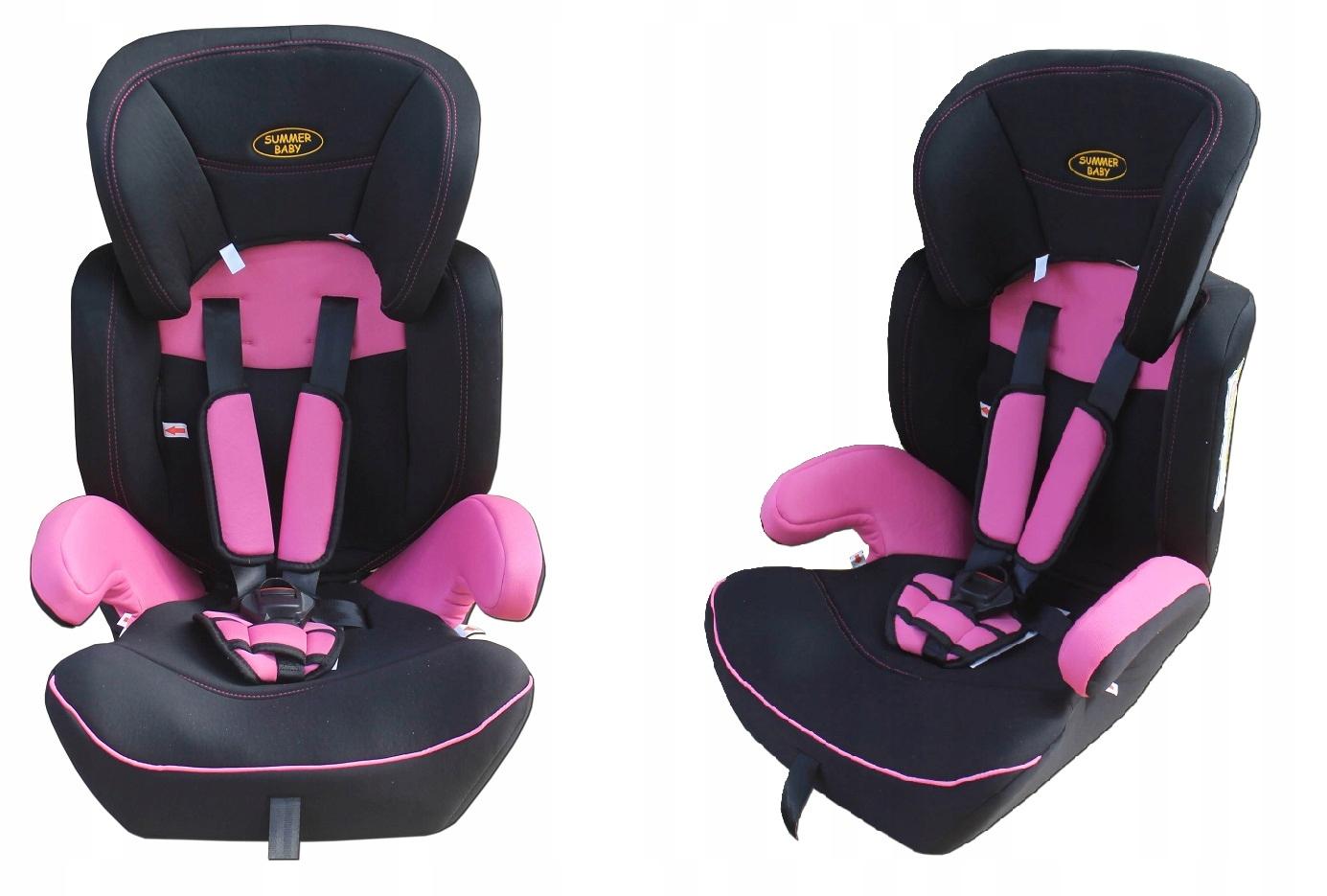 Fotelik samochodowy 9  36 kg Summer Baby CLASSIC