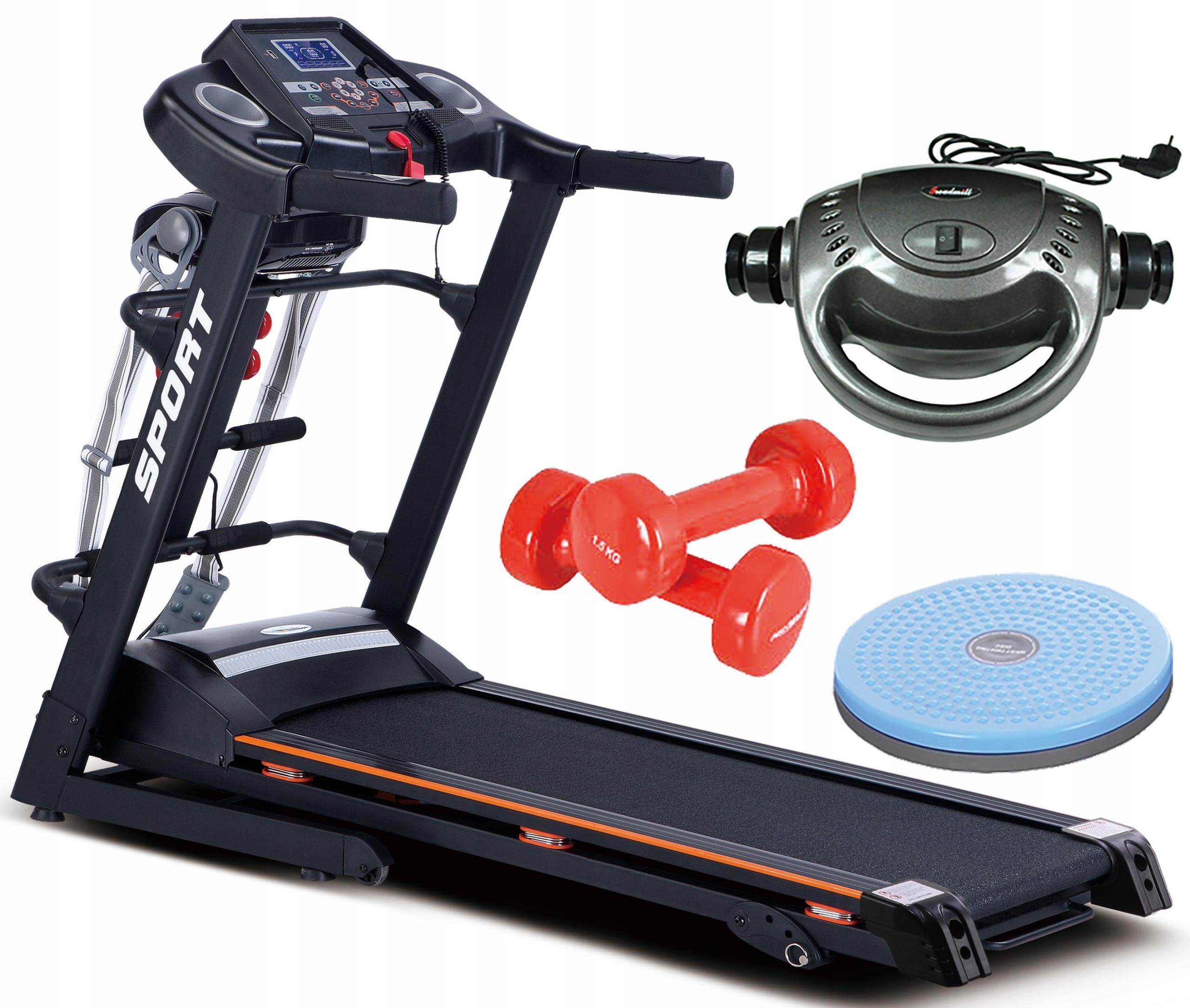 HRS Elektrický bežecký pás s Massagerom 130 kg, Twister
